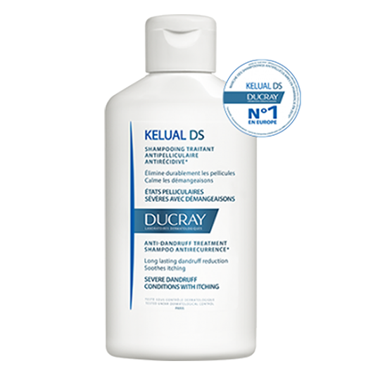 Ducray Kelual DS Squamo-Reducing Anti-Recurrence Treatment Shampoo 100ML feel22 Lebanon