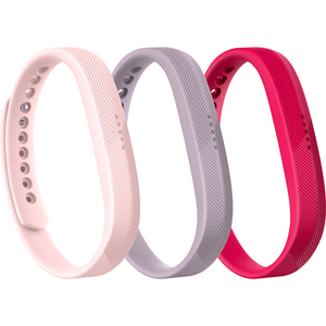 FitBit Flex 2 Spare Wrist Bands - Pack of 3
