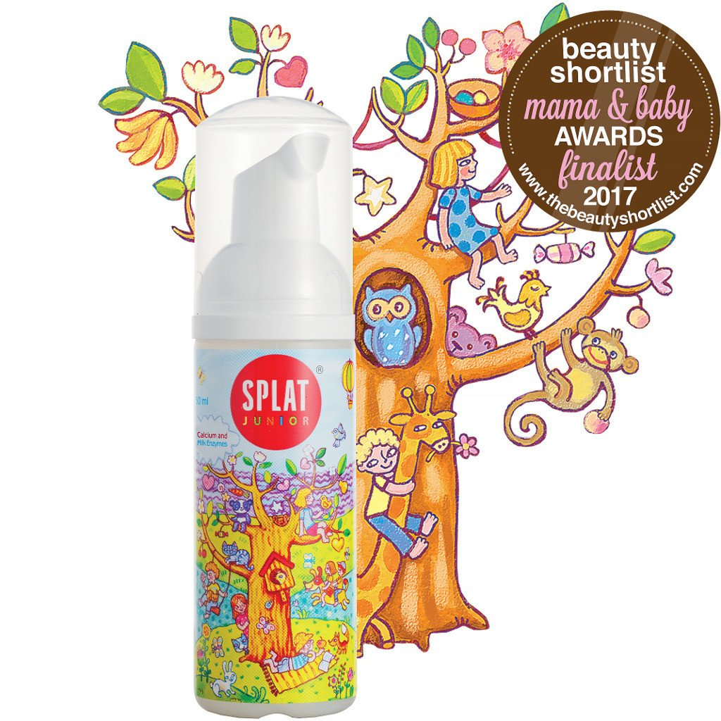 Splat Junior Magic Oral Care Foam - Instant Mouthwash for Children
