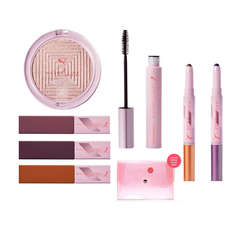 Maybelline x Puma: Build Your Kit - 5 Items