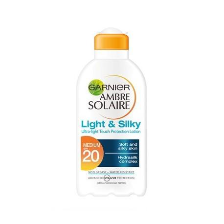 Garnier Ambre Solaire Light & Silky SPF20 200ml