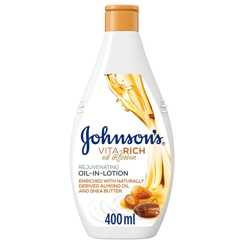 Johnson's Vita Rich Oil Infusion Body Lotion