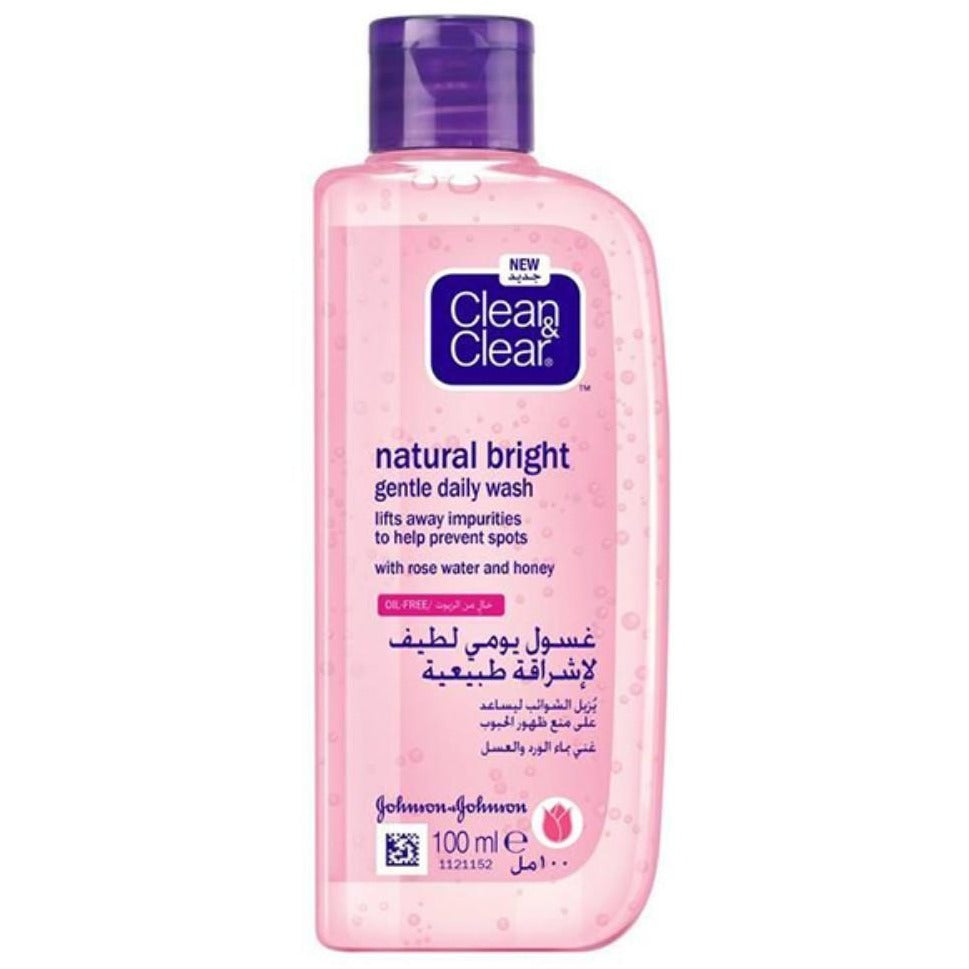 Clean & Clear Natural Bright Gentle Daily Wash