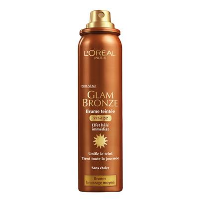 L'Oreal Paris Glam Bronze Tinted Mist - Face & Body Bronzing Spray