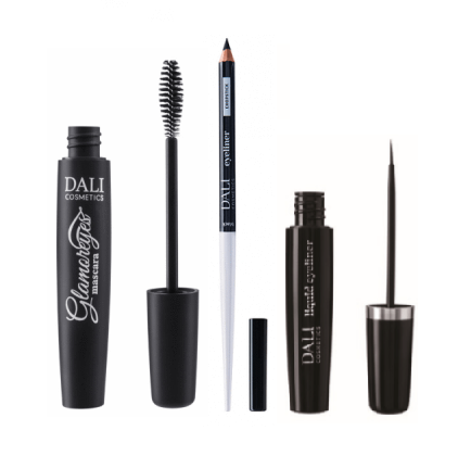 Dali Cosmetics Eye Glam Bundle