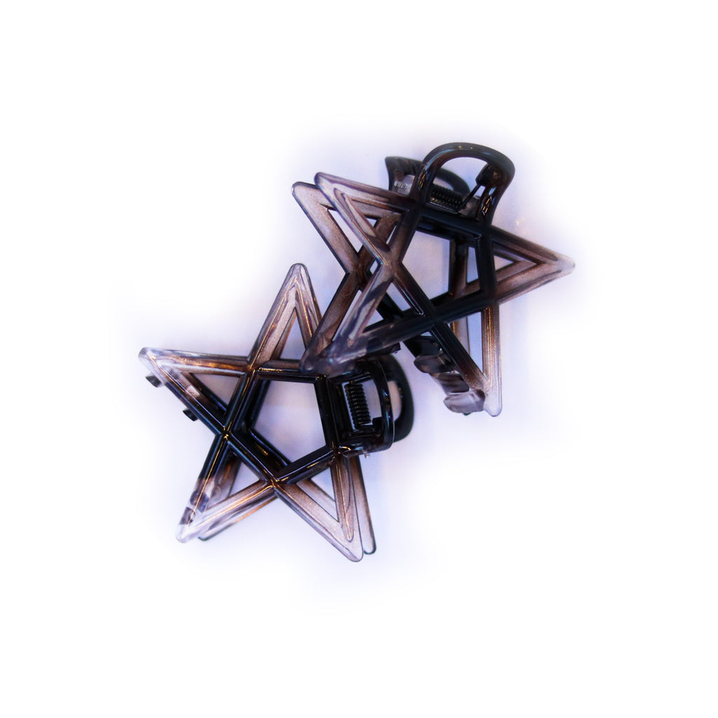 BrushMe Candy Star Pack of 2 Hair Clips