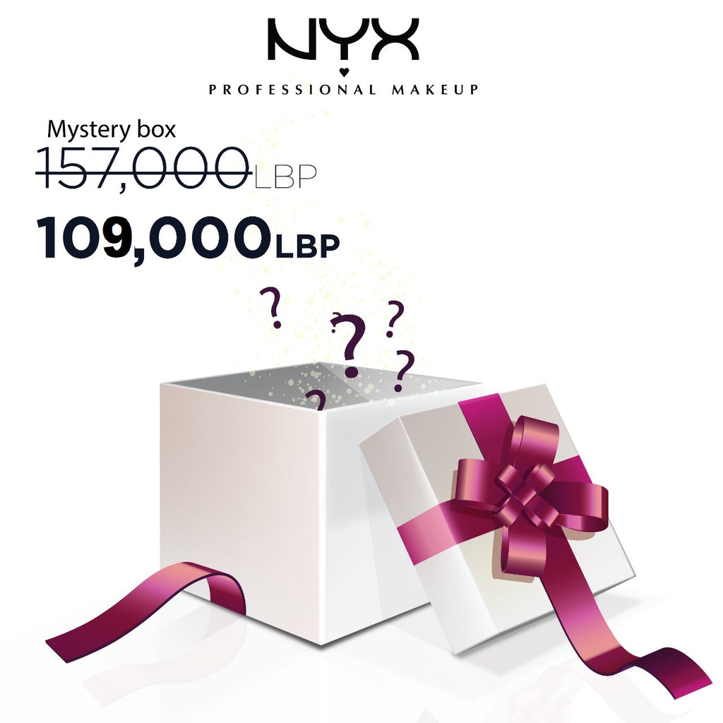 NYX Professional Makeup Eid Mystery Box: Full Glam - 8 Products! 31% Off