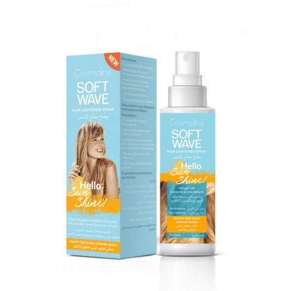 Cosmaline Soft Wave Hello Sunshine - Hair Lightening Spray