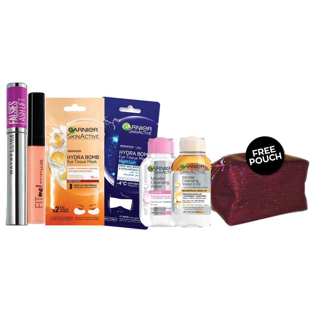 Maybelline Stay at Home Offer: Your Favorite Eye Look Bundle + Free Pouch