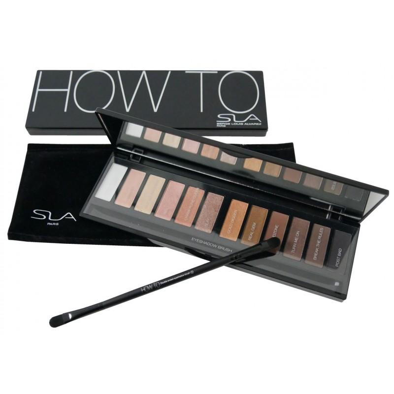SLA How To  Eyeshadow Palette