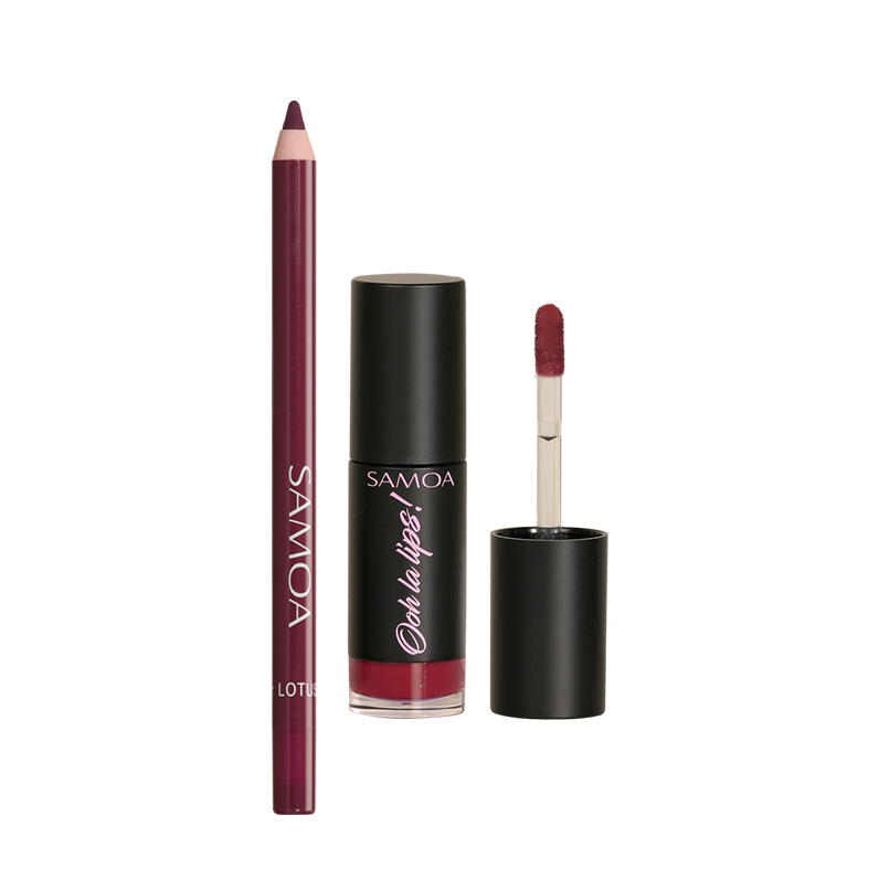 Samoa Lipstick Festival Offer: Ooh La Lips + Lotus Lipliner 31% Off