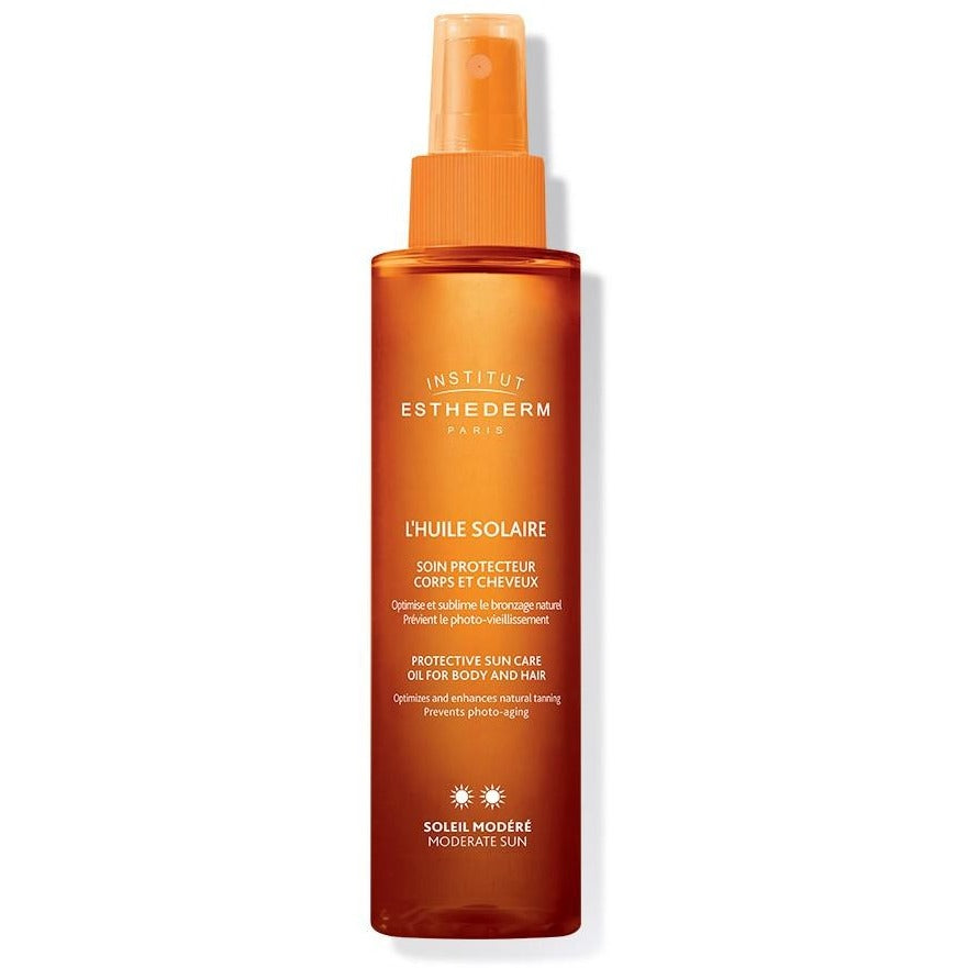 Esthederm Suncare Oil Moderate Sun 150ml