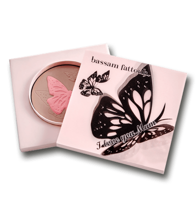 Bassam Fattouh I Love You Mom Pressed Blush Powder