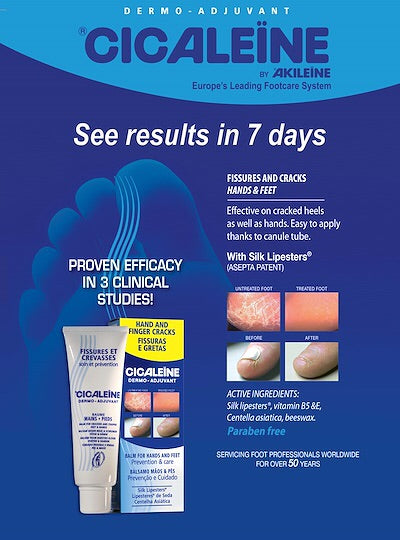 Akileine Cicaleine Cracks & Fissures Hand & Foot Balm Cream