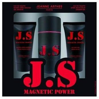 Jeanne Arthes JS Magnetic Power EDT For Men Gift Set
