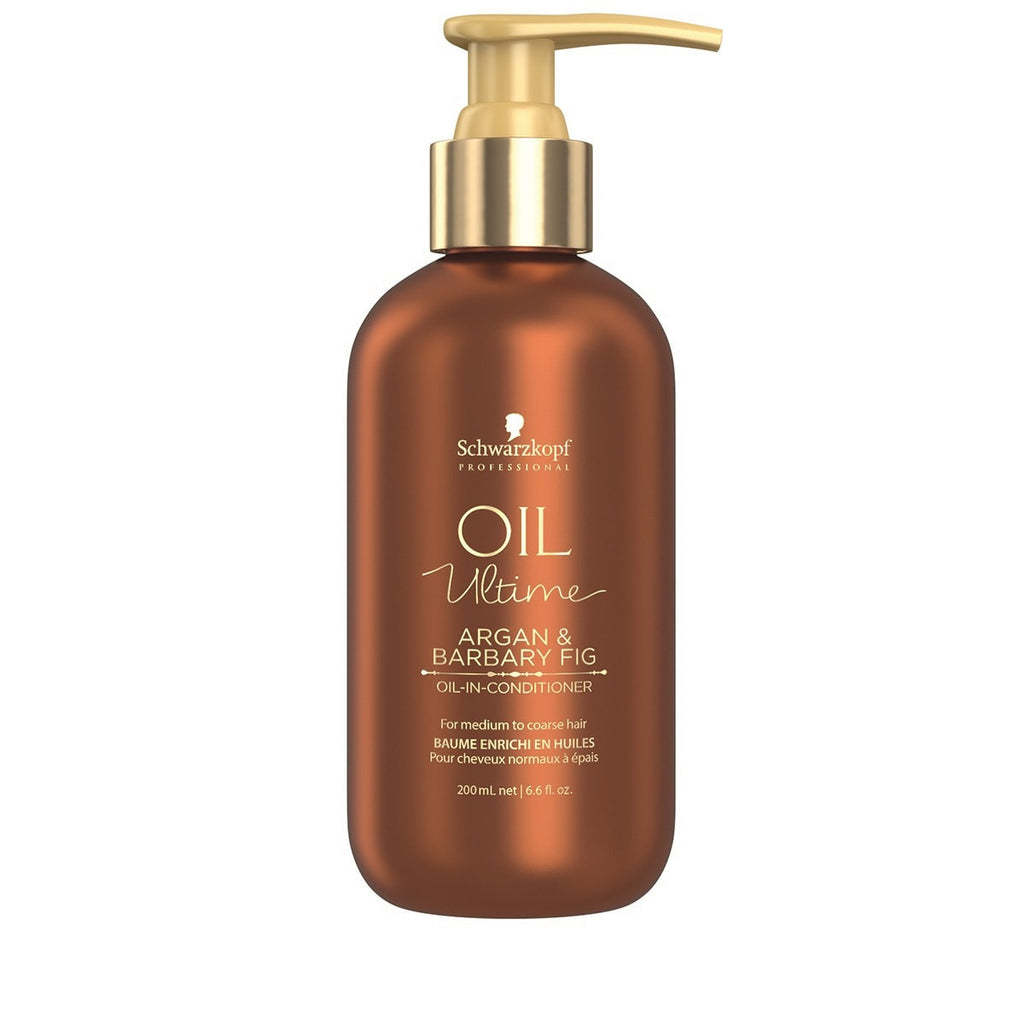 Schwarzkopf Professional Oil Ultime Argan & Barbary Fig Oil in Conditioner 200ml