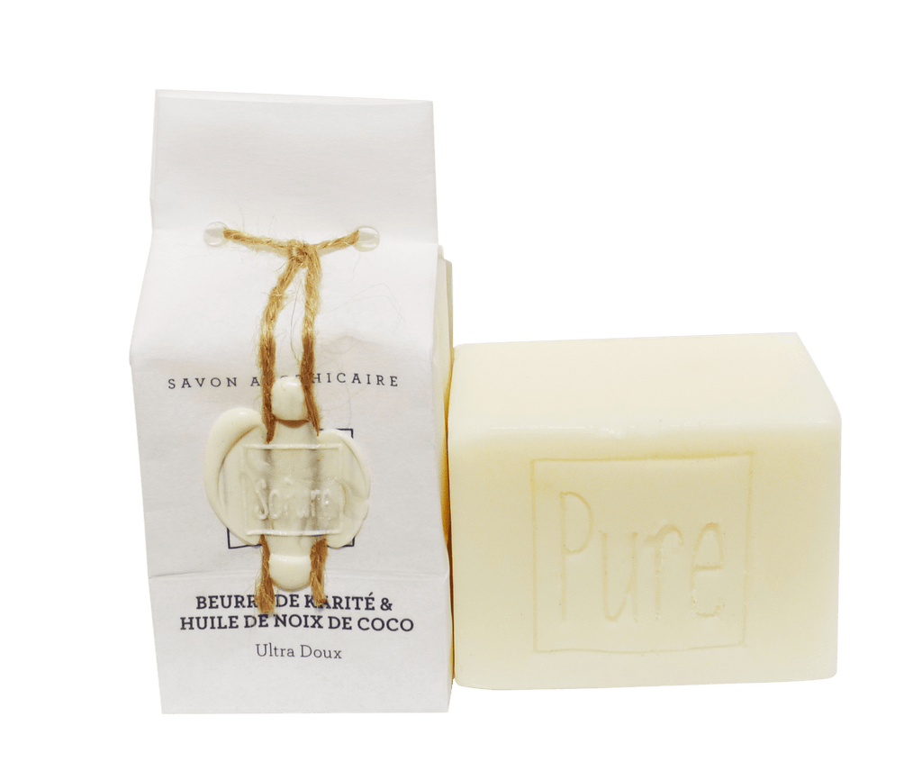 SoPure Soap Olive Oil, Shia Butter & Coconut Oil - Hydrating & Soothing 130g