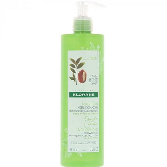 Klorane Shower Gel with Cupuacu Butter - Eau de Yuzu 400ml