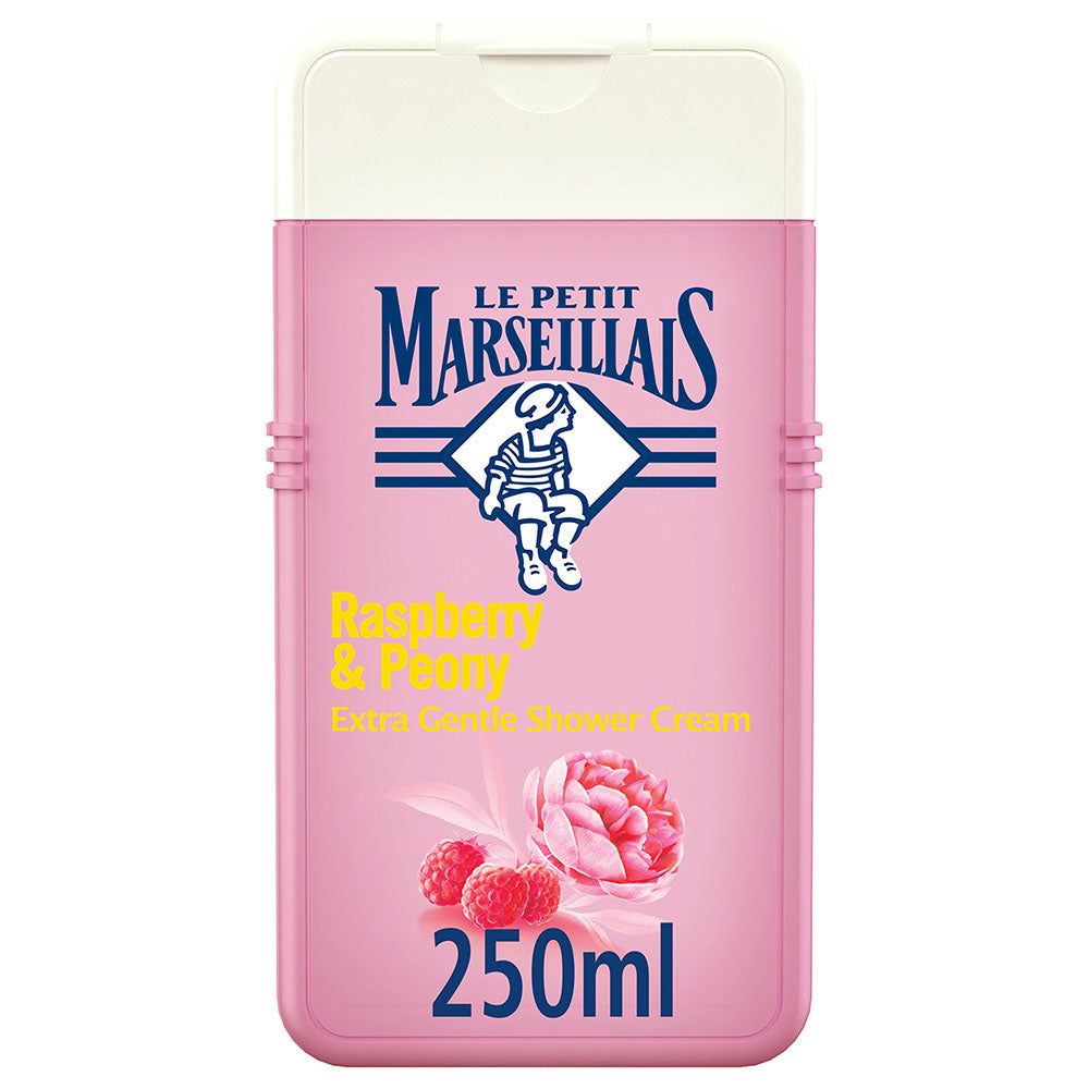 Le Petit Marseillais Raspberry & Peony Shower Cream - 250ml