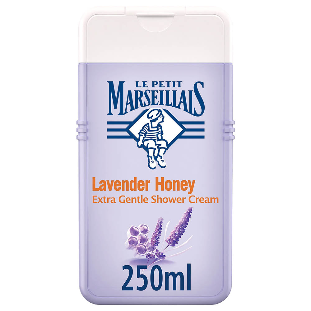Le Petit Marseillais Lavender Honey Shower Cream - 250ml