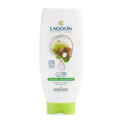 Lagoon Natural Extracts Conditioner for Silky Hair - Olive & Shea