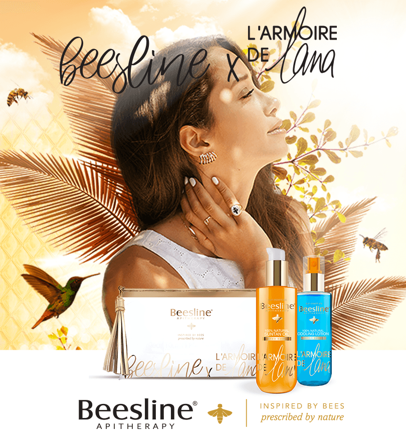 Beesline x L'Armoire de Lana Special Edition - Lotion and Tanning Oil with Pouch