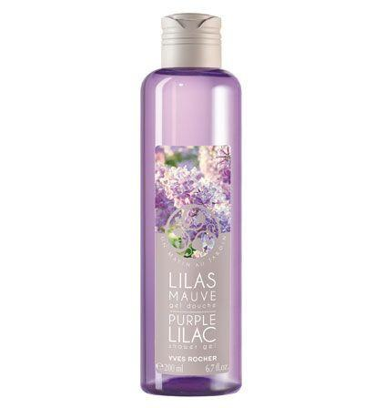 Yves Rocher Purple Lilac Shower Gel