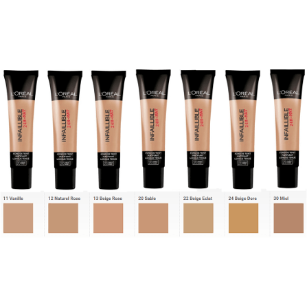 L'Oreal Paris Infallible 24h Matte Foundation + Free Pore Refining Primer