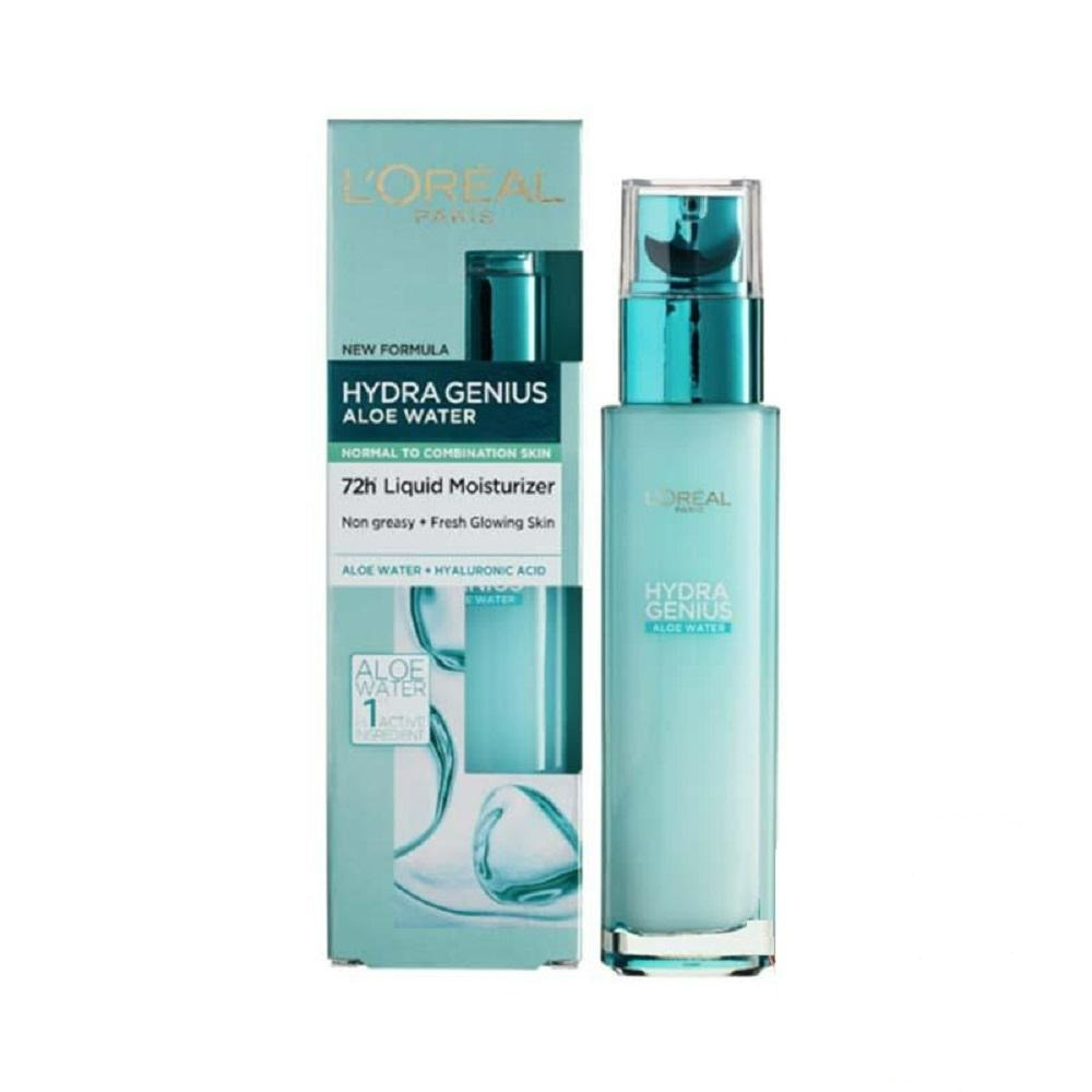 L'Oreal Paris Hydragenius Daily Liquid Moisturizing Care - Normal & Combination Skin