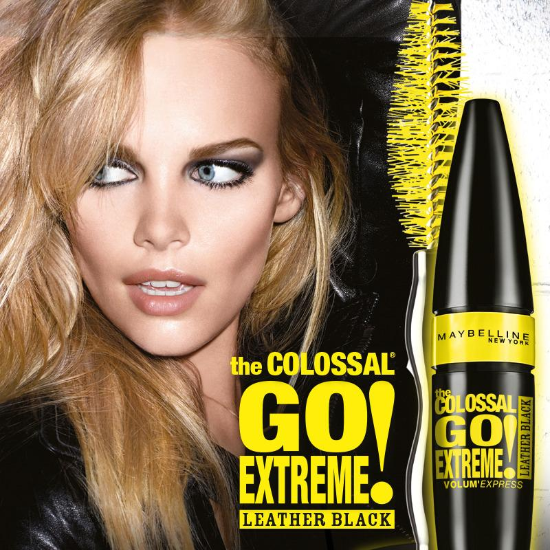 Maybelline Mascara Volum' Express Go Extreme Leather Black