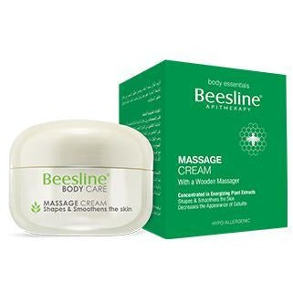 Beesline Body Contouring & Slimming Massage Cream + Massager