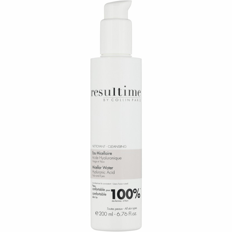 Resultime Micellar Water Face and Eyes Hyaluronic Acid 200ml