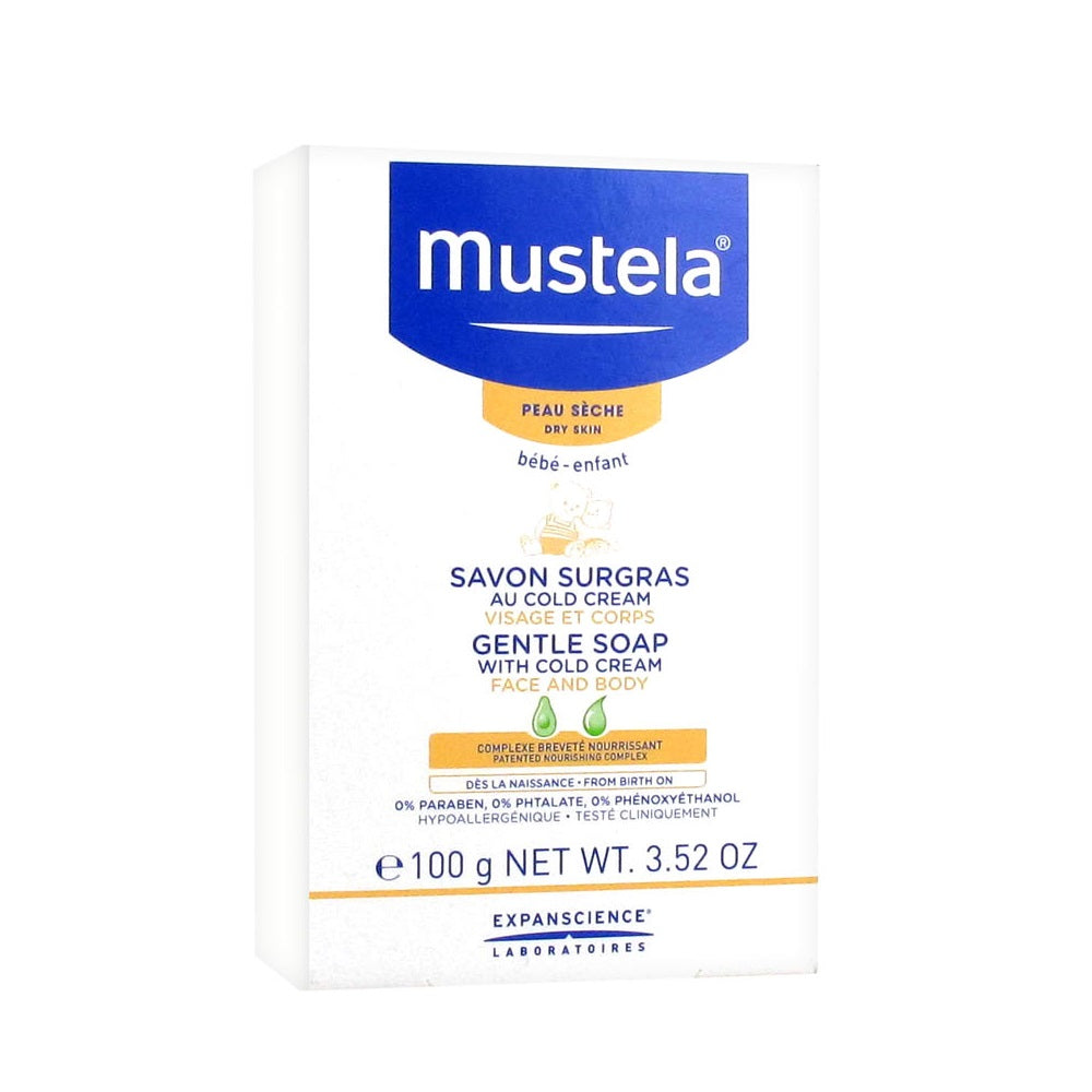 Mustela Dry Skin Gentle Soap with Cold Cream
