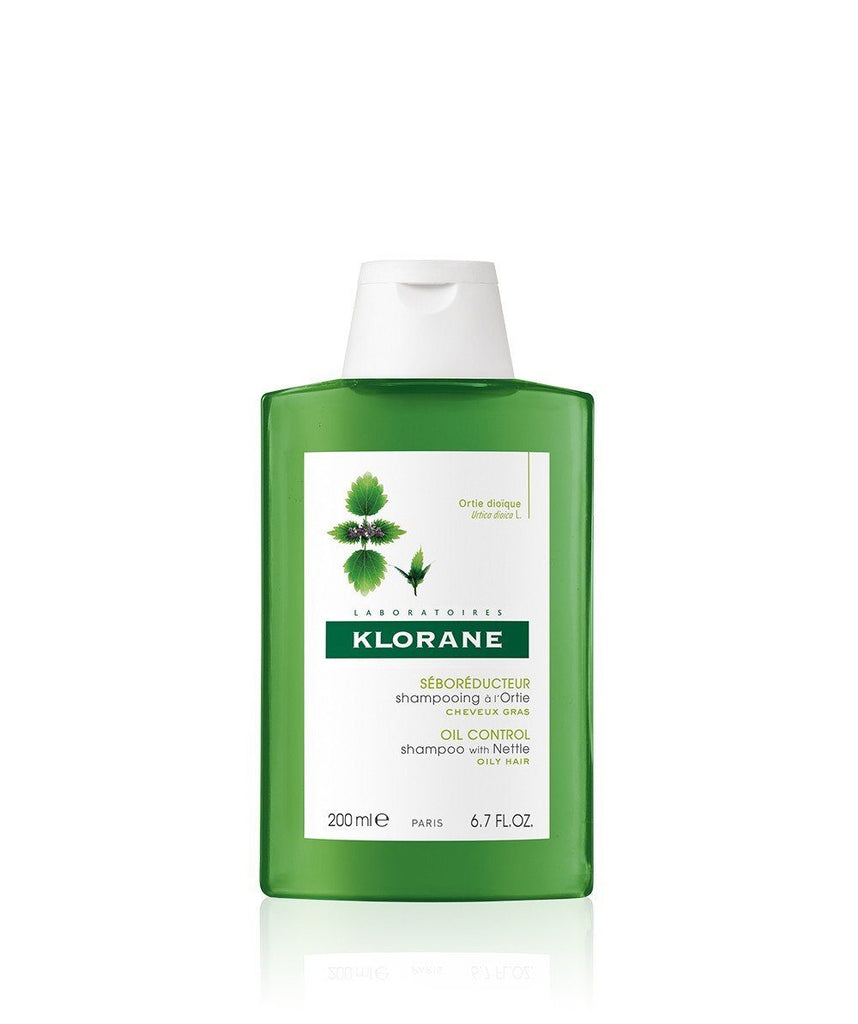 Klorane Oil-Control Shampoo with Nettle - 2 Sizes
