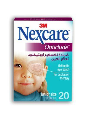 Nexcare Opticlude Orthoptic Eye Patch Junior - Box of 20