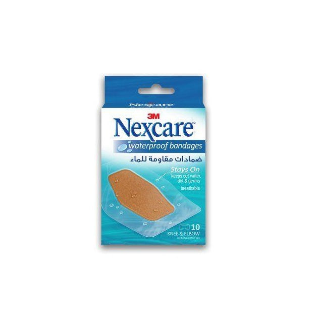 Nexcare Absolute Waterproof Bandages - 60x89mm Box of 10