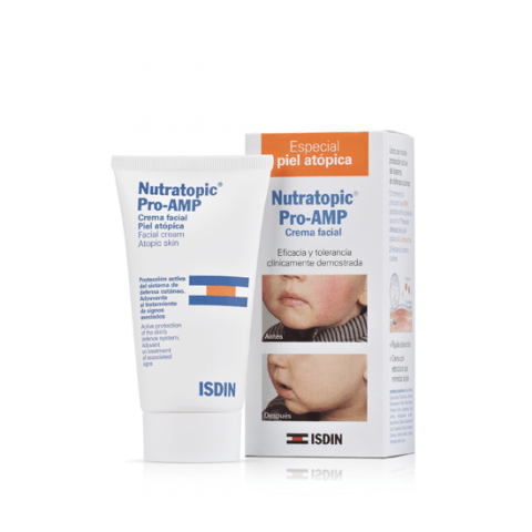 Isdin Nutratopic Pro-AMP Facial cream Atopic Skin