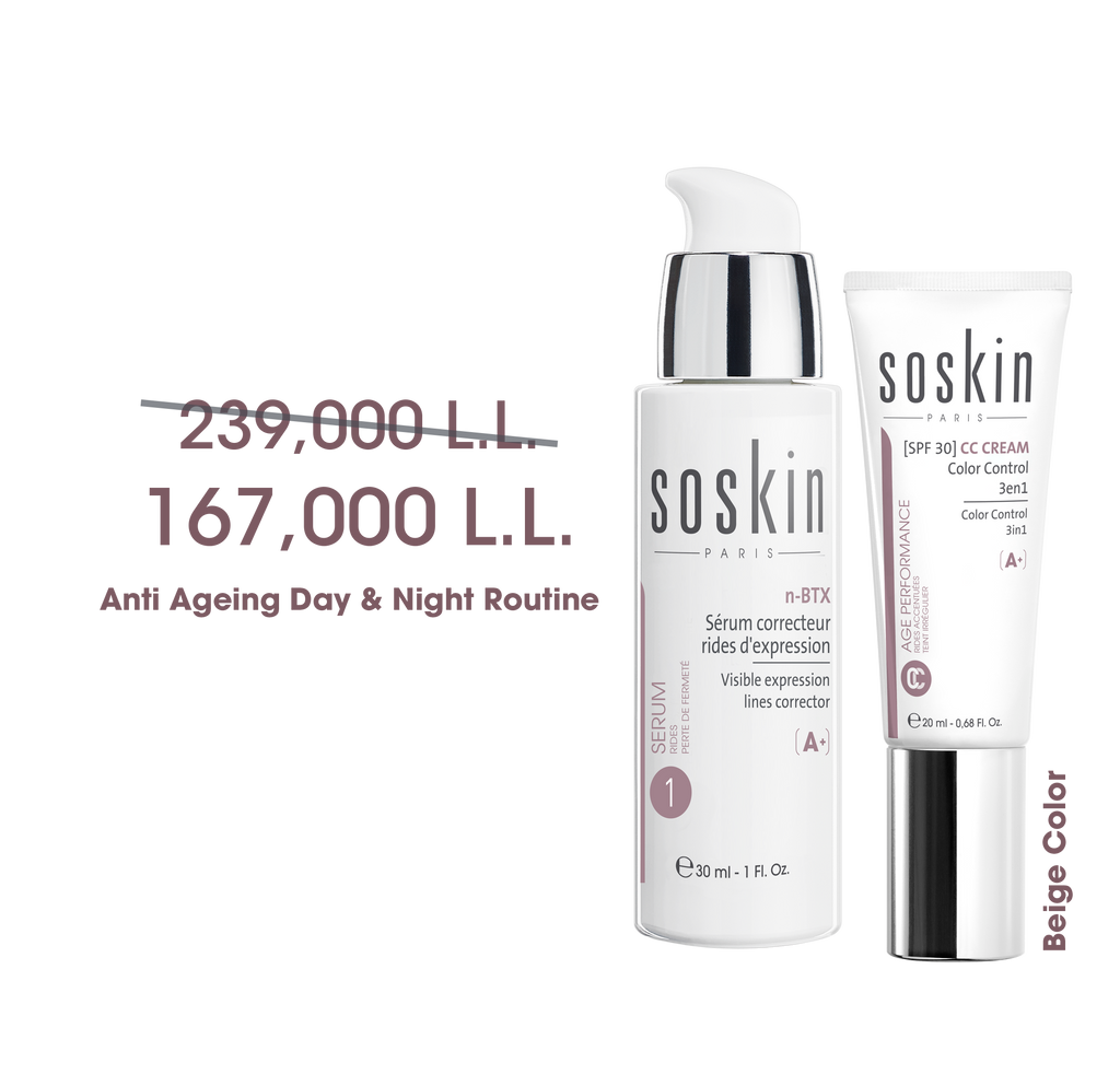 Soskin Anniversary Offer: Anti Aging Day Routine