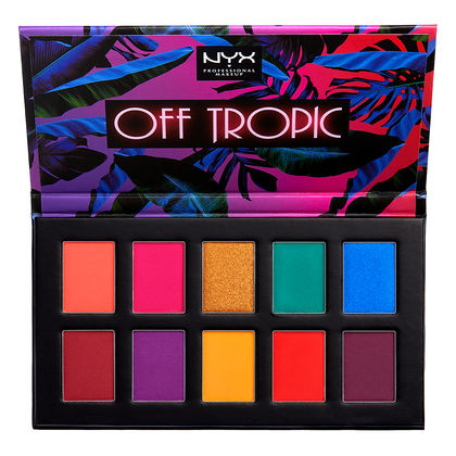 NYX Professional Makeup Off Tropic Shadow Palette