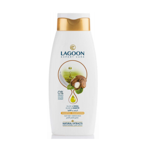 Lagoon Natural Extracts Shampoo for Silky Hair - Olive & Shea