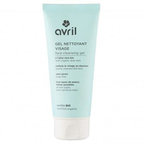 Avril Face Cleansing Gel with Aloe Vera -  Certified Organic