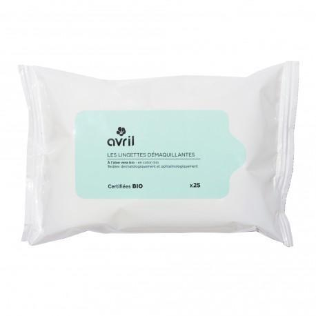 Avril Cleansing Wipes Pack of 25 - Certified Organic