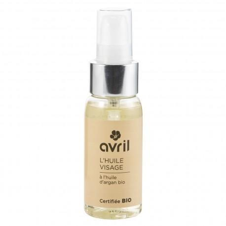 Avril Face Oil With Argan Oil 50ml - Certified Organic