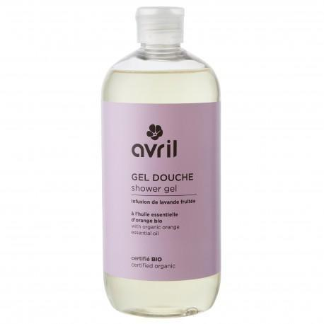 Avril Shower Gel Infusion de Lavande Fruitée 500ml - Certified Organic