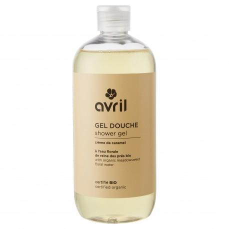 Avril Shower Gel Crème de Caramel 500ml - Certified Organic