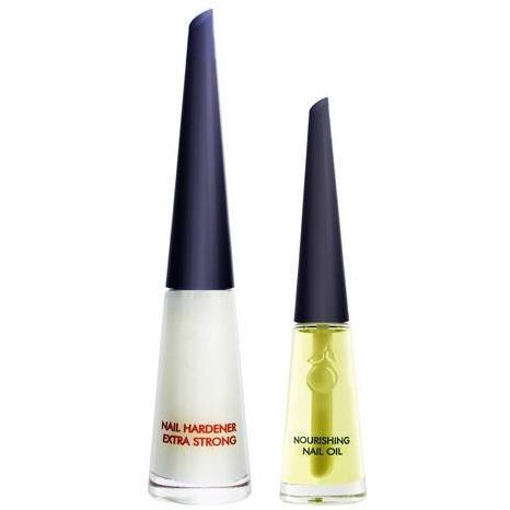 Herome Nail Hardener Extra Strong + Free Mini Nourishing Nail Oil
