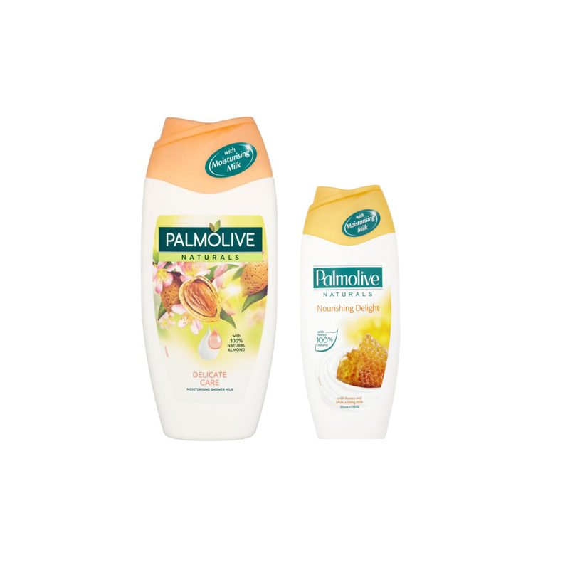 Palmolive Naturals Almond & Milk Shower Gel + FREE 250ml Shower Gel