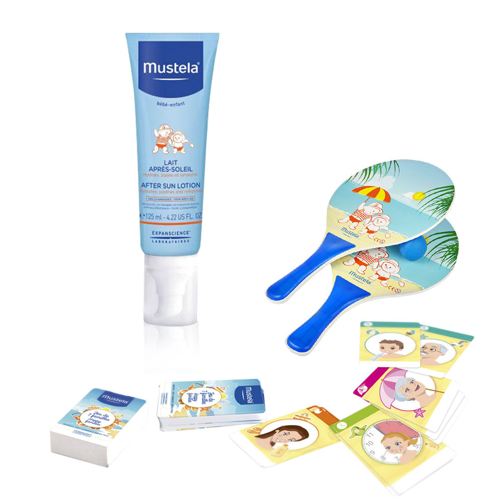 Mustela After Sun Hydrating Spray + Sun Game Gift