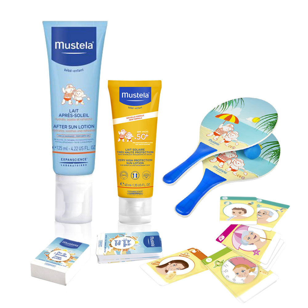 Mustela Fun At The Sun Offer: Sun Face Lotion + After Sun 20% Off + Free Game Gift