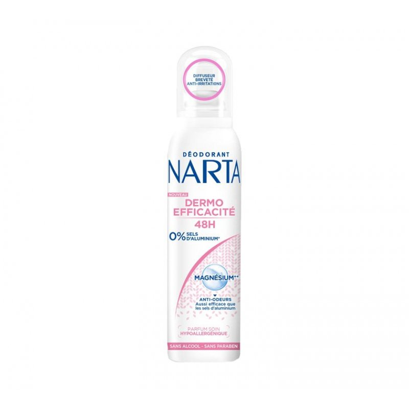Narta Women Deodorant Dermo Efficiency 48h Magnesium